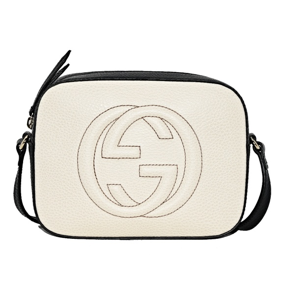 Gucci Handbags - NEW GUCCI SOHO DISCO TEXTURED-LEATHER CROSS BODY